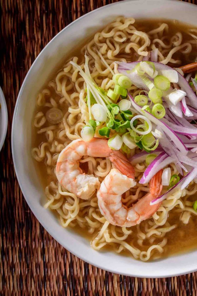 Inspired by Japanese ramen, these 15 Ramen Noodle Recipes are easy to make at home and loaded with flavors. Ramen noodles are quick-cooking and so versatile, and we'll cover the best ramen recipes made with fresh ramen and instant ramen noodles. From spicy to gluten-free, beef, chicken, and shrimp ramen options too.