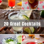 f you're looking for a new signature drink or you're new to the world of mixed drinks, this list of 20 Great Cocktails has everything you need! If you are planning for a night out, you'll know exactly what to order at restaurants. Looking to recreate these classic cocktails at home? They're quick and easy to make – from margaritas to mojitos and everything in between.