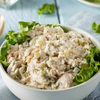 Keto Chicken Salad is one of the easiest Keto chicken breast recipes and loaded with delicious flavors!