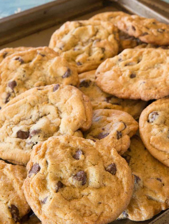 These classic Nestle Toll House Cookies are chewy, buttery, and full of rich original Nestle® Toll House Chocolate Chip Cookies. This recipe is easy to make and features golden brown edges with ooey gooey centers.