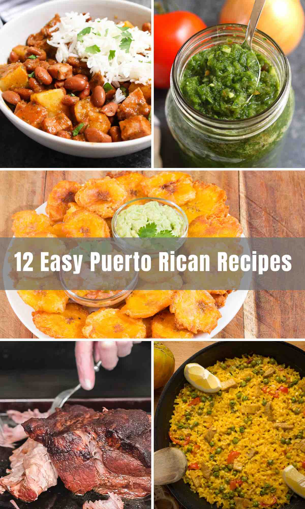 Puerto Rican Food is full of spice and herbs with a combination of flavors beyond your wildest dreams. We've collected 12 Easy Puerto Rican Recipes that are authentic and incredibly delicious. Take a deep dive into these dishes and walk into the richness of Puerto Rican cuisines.