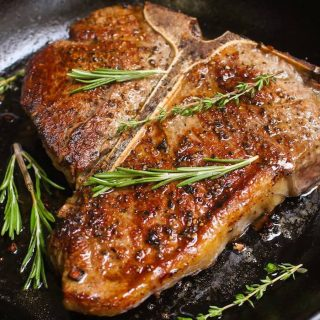 Porterhouse Steak is one of the best Steak Dinner Recipes. It's tender, juicy, and flavorful, rivaling that of your favorite steakhouse restaurant.