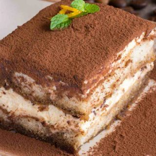 Tiramisu is one of the most popular coffee desserts. It's sweet, creamy, and infused with delicious coffee flavor.