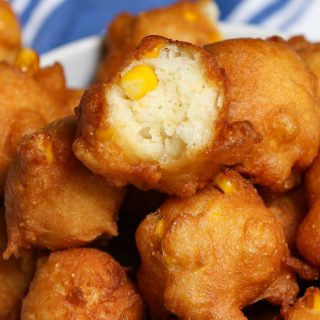 If you like corn fritters, you'll love these Homemade Crispy Corn Nuggets. Simply make a quick batter by combining fresh or canned corn with a few kitchen staples, then fry them to golden perfection. This Southern fried corn nugget recipe is perfect for an appetizer, dessert, or side dish.