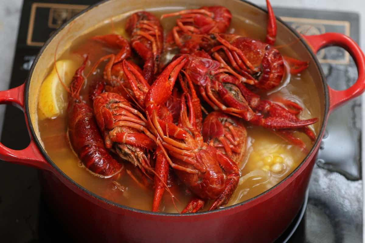 Crawfish Boil Step 4
