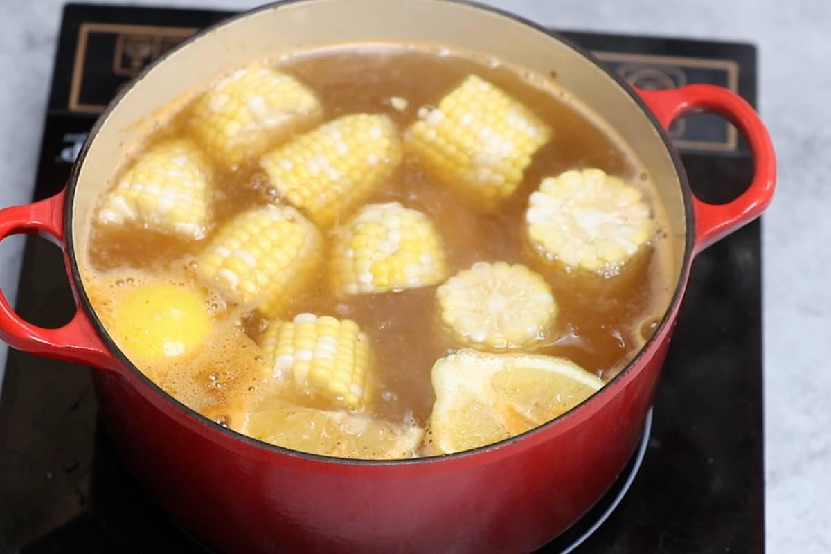 Crawfish Boil Step 2