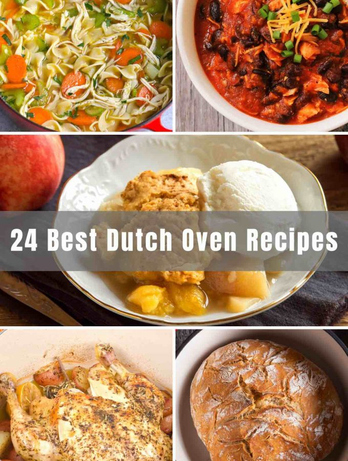 We've collected 24 of the very Best Dutch Oven Recipes that will make your life and your cooking nights so much better! From whipping up everyday meals to conquering campfire feasts, Dutch ovens can truly do it all!