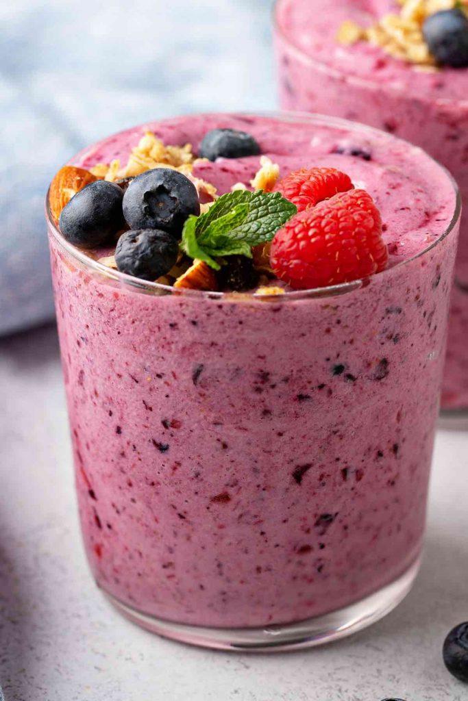 Fruit Smoothie with Yogurt