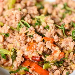 Ground venison stir fry is so flavorful and easy to make at home. It's one of our favorite ground venison recipes.