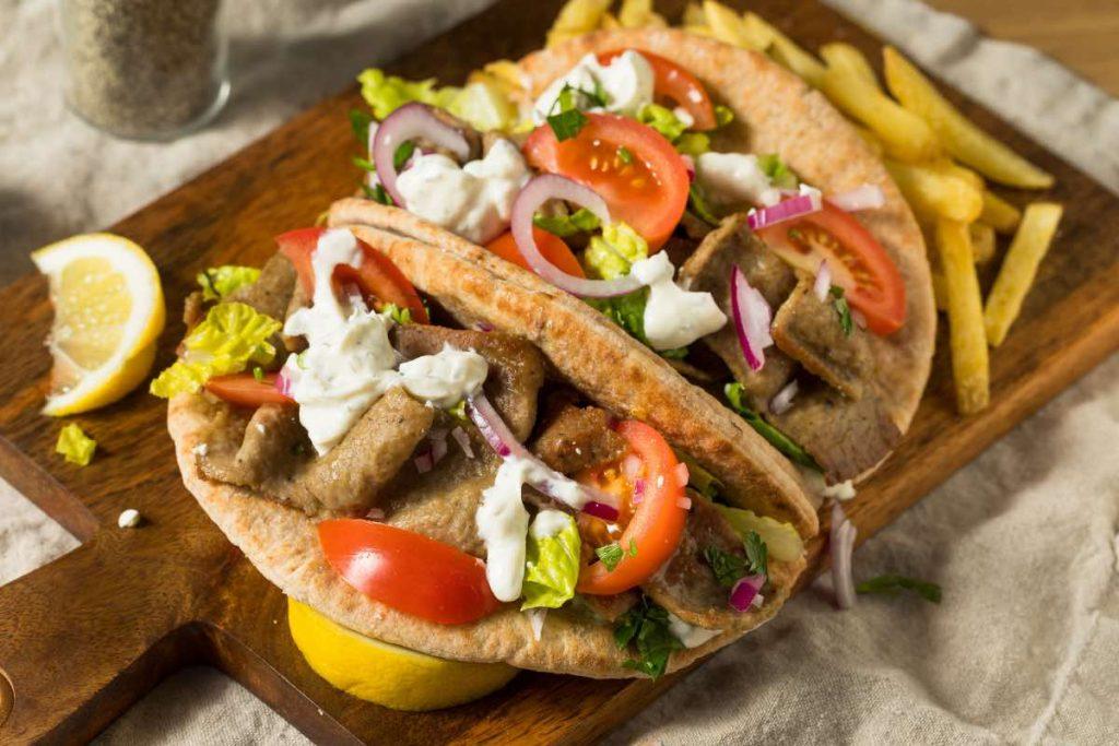 Gyro Sandwich Step 3