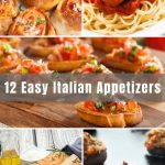 These 12 Best Italian Appetizers are my go-to appetizer recipes and are great all year round. From the classic Italian bruschetta to the kids-friendly Italian meatballs, these crowd-pleasing appetizers are easy to prepare and will surely be a hit at your next gathering or party.