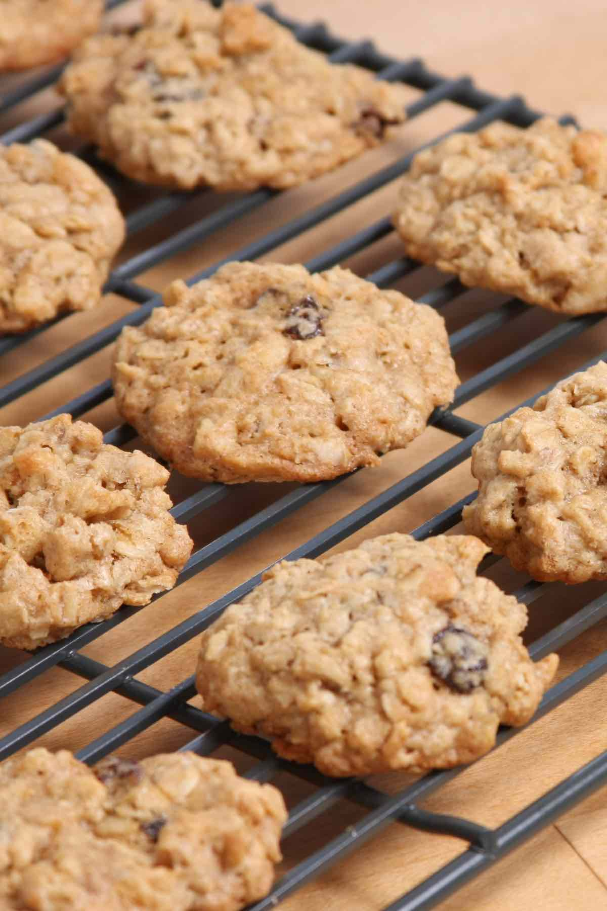 Soft and chewy Quaker Oatmeal Cookies are easy to prepare with just a few ingredients from your pantry. Raisins add sweetness and even more flavor to this mouth-watering treat that turns out perfectly every single time!