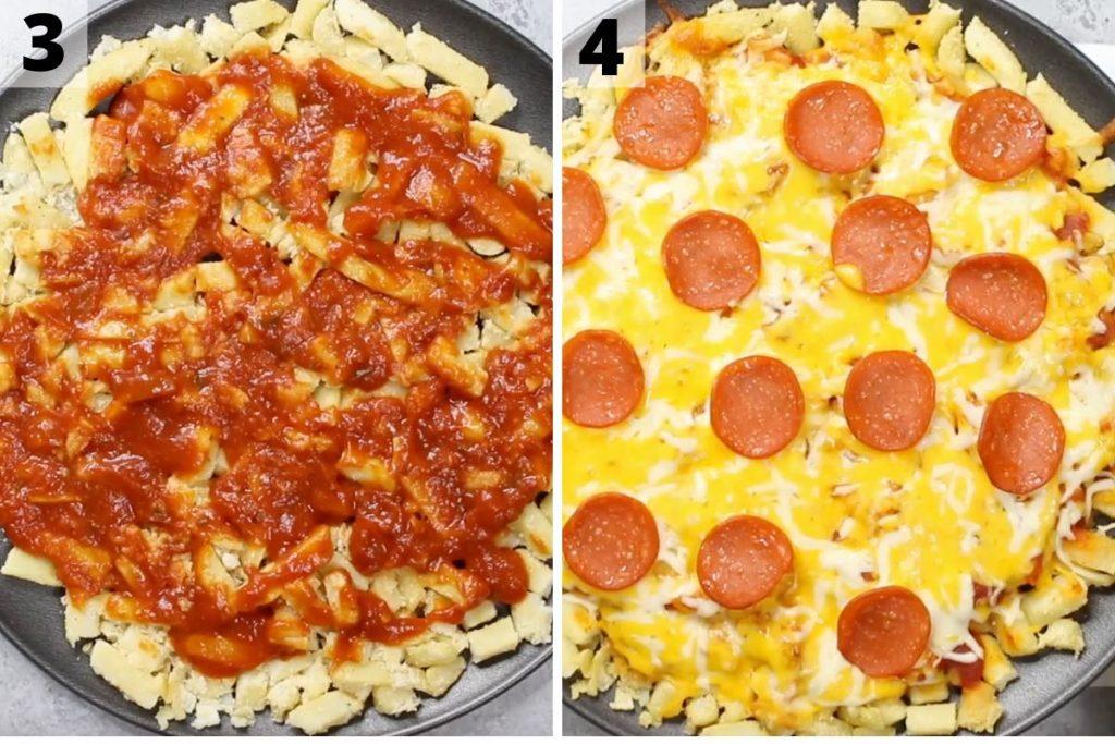 Pizza Fries Recipe Step 2 photos