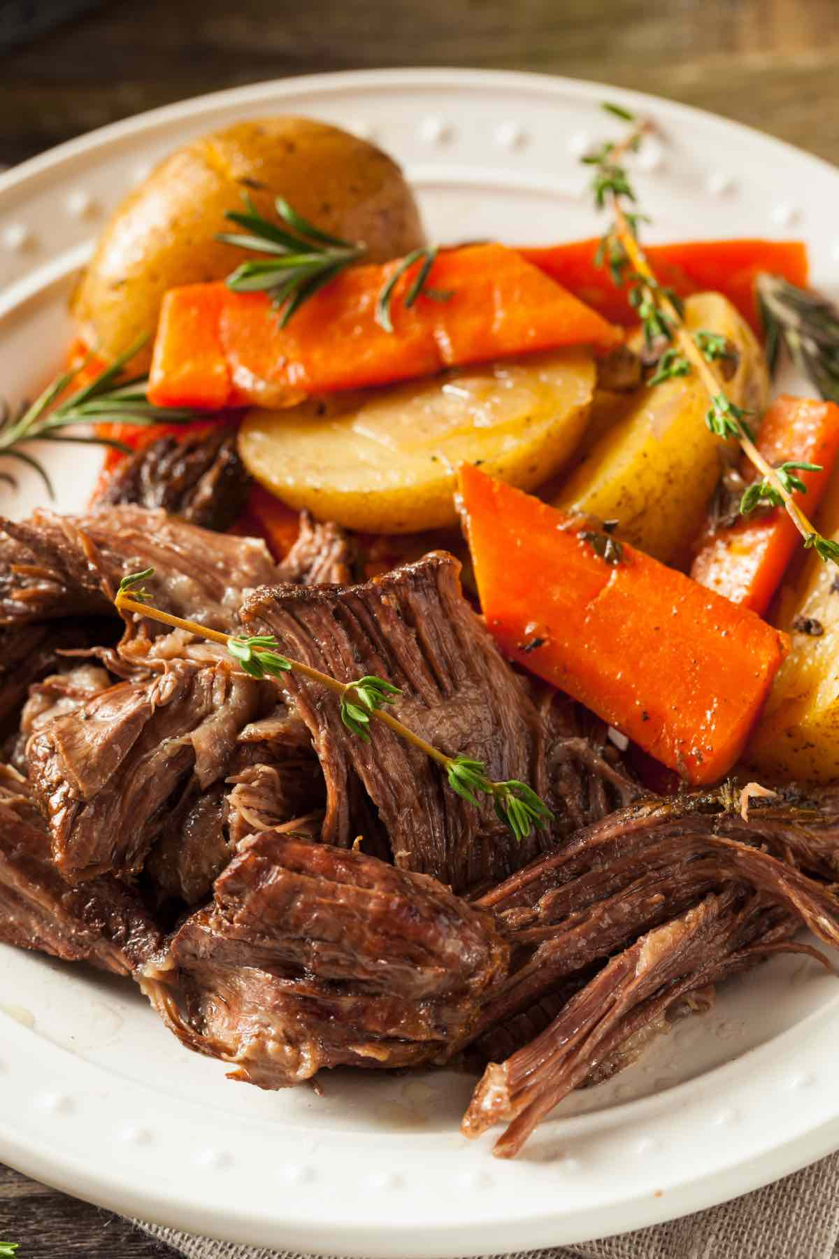 Ever wondered what dishes to serve with your Pot Roast Dinner? Well, we've rounded up 16 Best Pot Roast Sides that are easy and delicious. From healthy vegetables to potatoes and rice, we've got you covered!