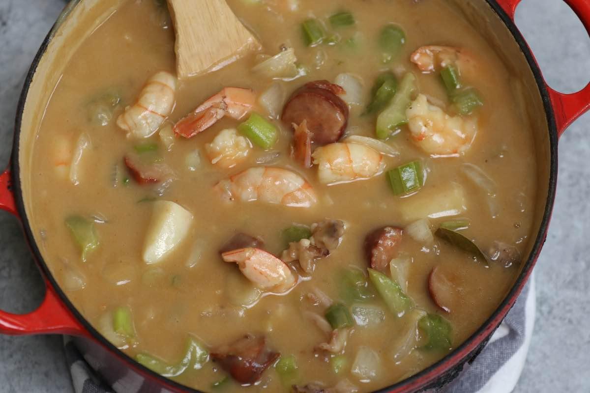 Seafood Gumbo Step 5