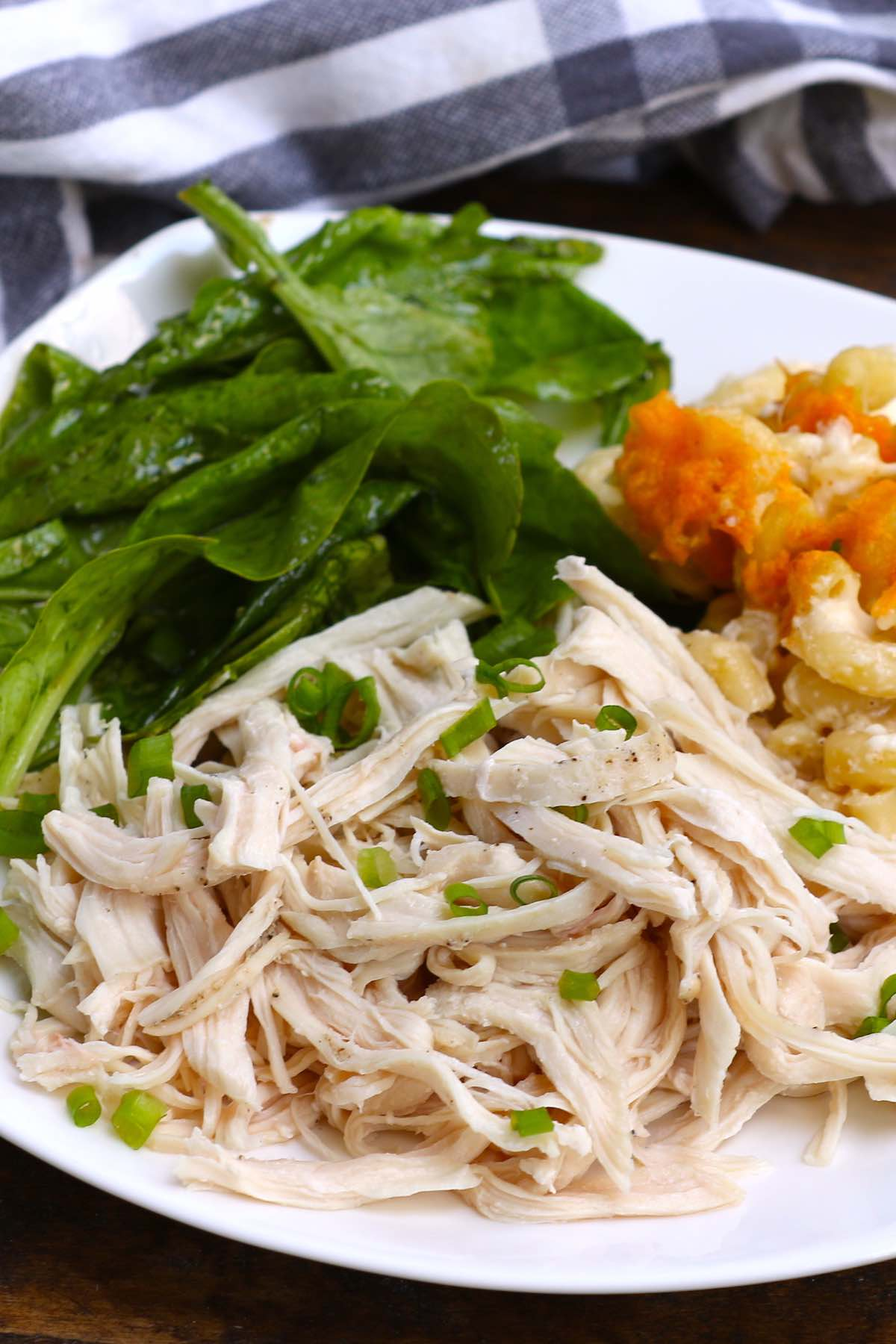 We've rounded up 18 Easy Shredded Chicken Recipes that are delicious and versatile. Shredded chicken makes a great addition to everything from spicy quesadillas to a creamy pasta bake.