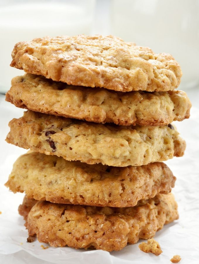 A Round-up of the 13 Best Healthy Cookie Recipes that are easy to make at home! From banana oatmeal to peanut butter and chocolate chip flavors, this list has lots of healthy cookies for everyone.