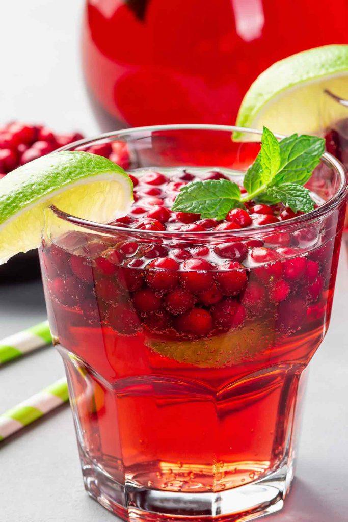 Cranberry Limeade Mocktail Recipe