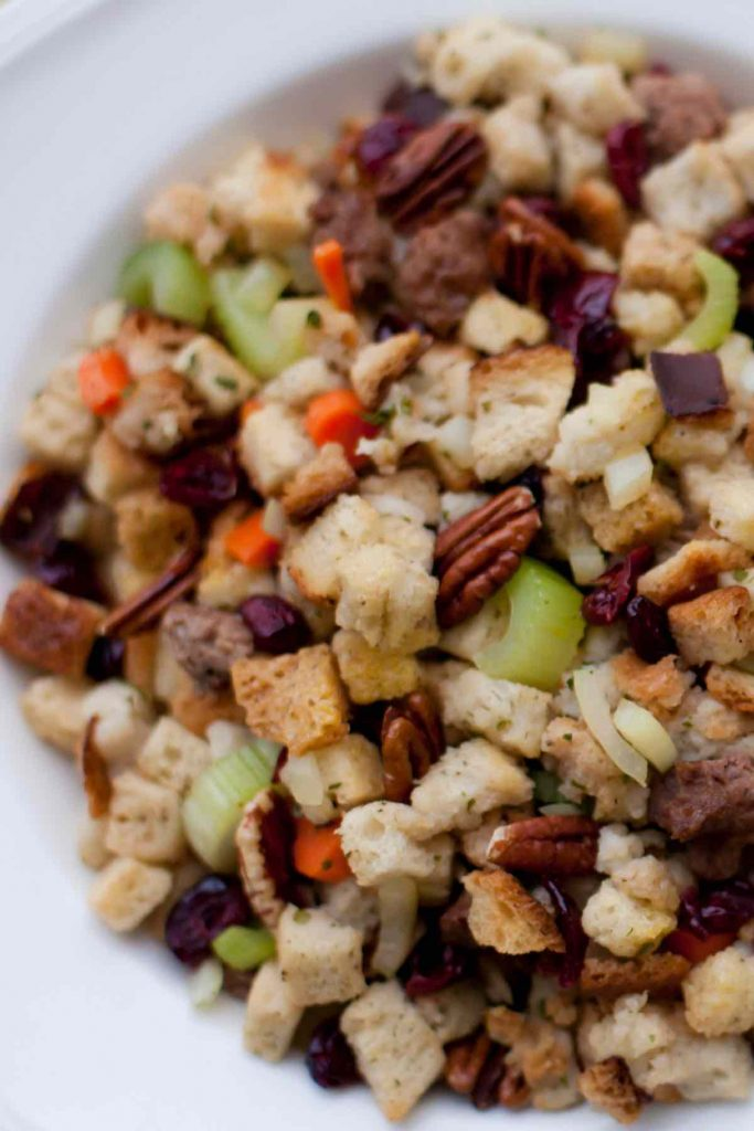 Cranberry Pecan Stove Top Stuffing