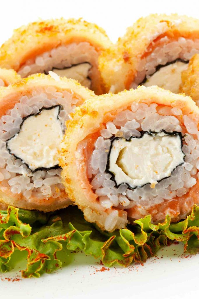 Deep Fried Sushi Roll