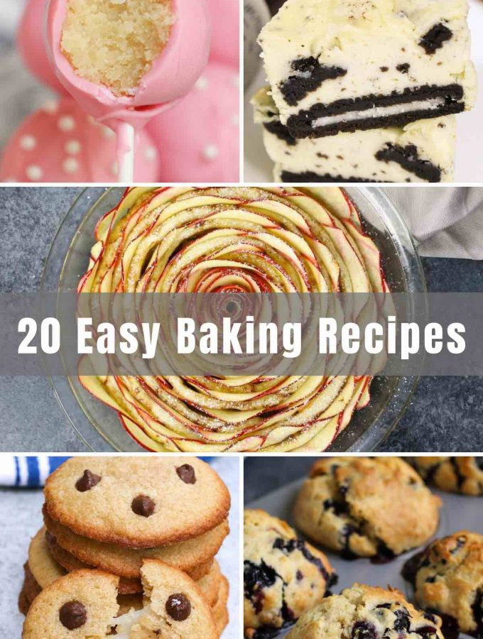 What could be better than a freshly baked homemade treat? Bonus points if you make it yourself! Baking is a rewarding hobby that pays off in delicious cakes and cookies. If you're looking for simple and fun recipes, look no further than these 20 Easy Baking Recipes for some inspiration!