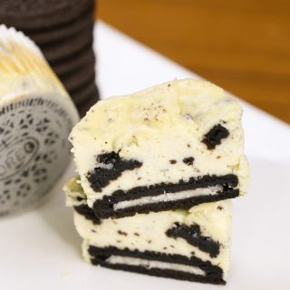 These Oreo Cheesecake Bites are creamy, smooth, and delicious. It's one of our favorite baking recipes and very easy to make.