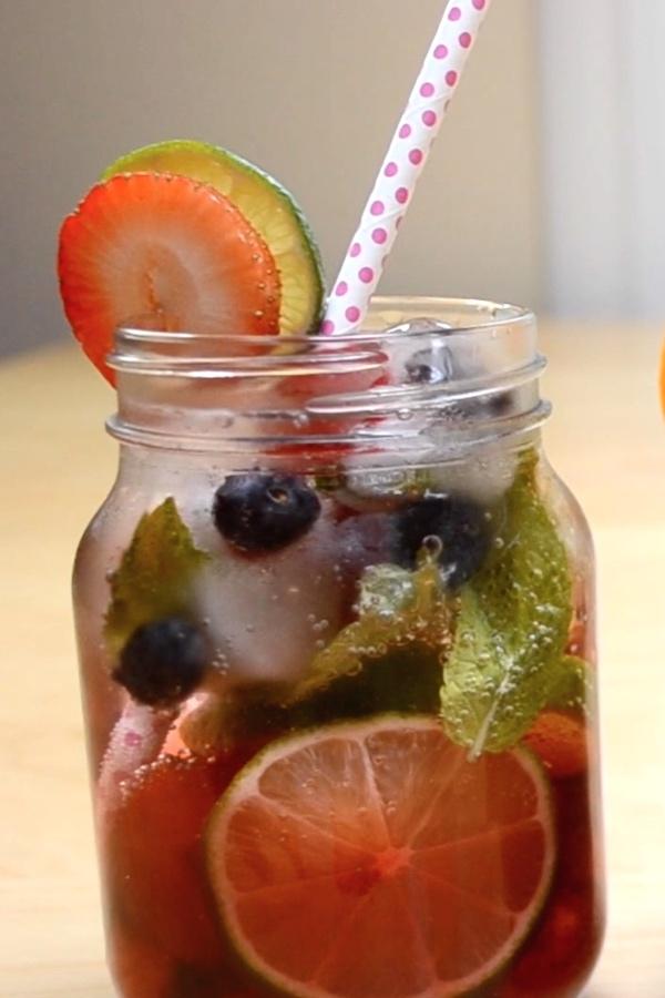 Fruit Infused Mocktails