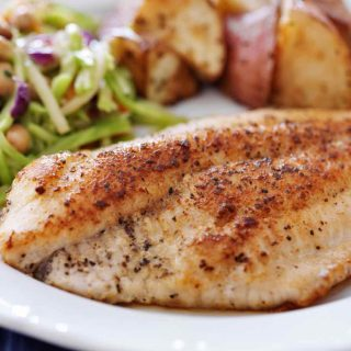Steam Broccoli is one of our favorite side dishes for tilapia fish. It's healthy, delicious, and takes less than 10 minutes to make.