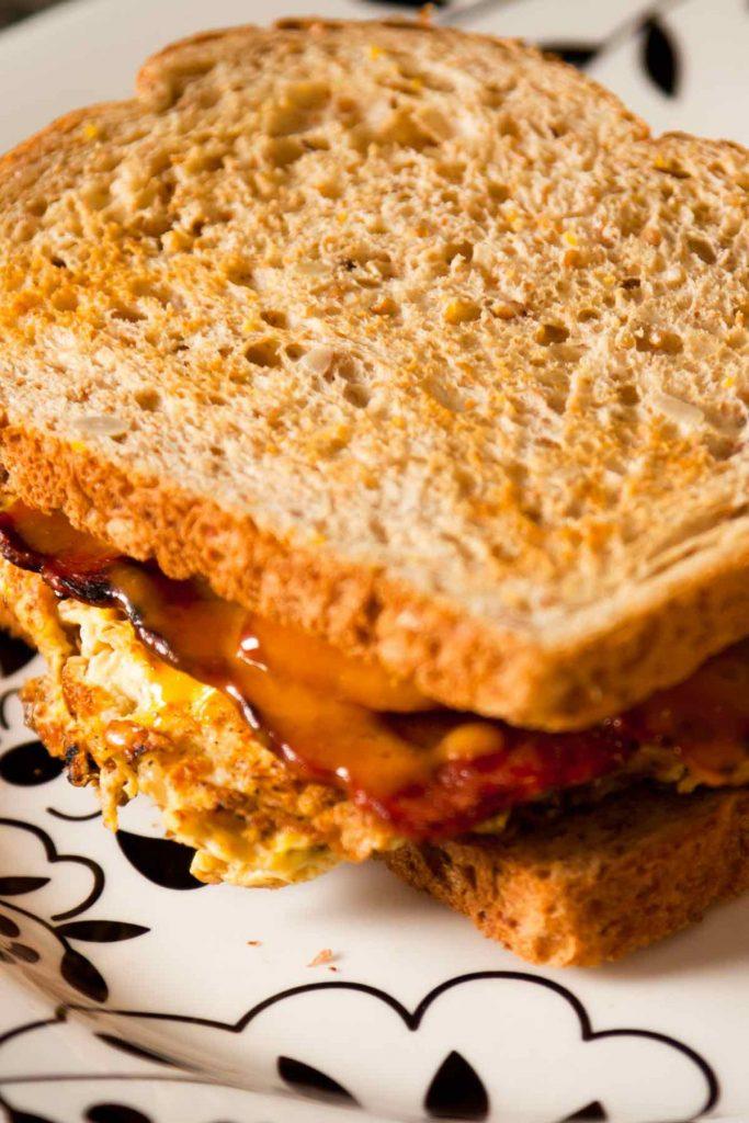 Air Fryer Breakfast Sandwich