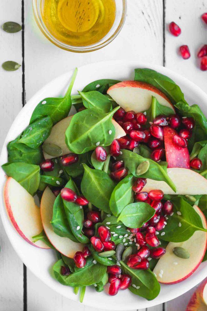 Apple Pomegranate Salad