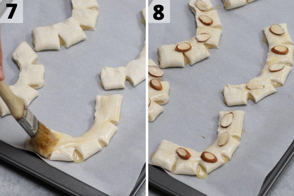 Bear Claw Recipe Process 7 and 8 Photos