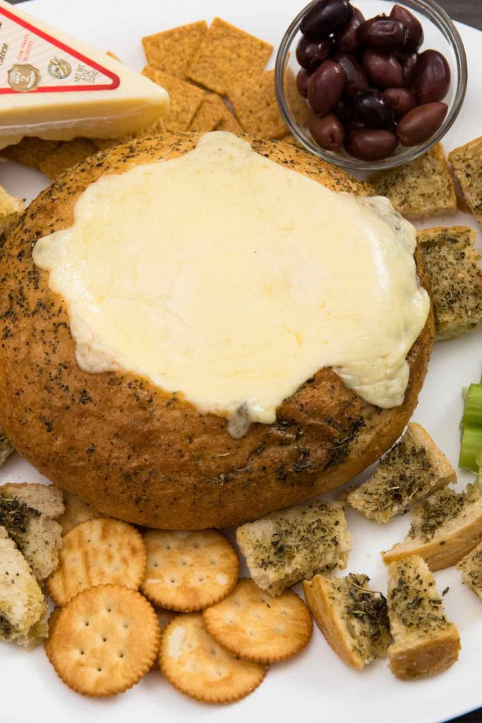 Bread Bowl Cheese Dip