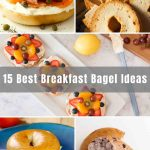 Are you wondering what you can do with bagels? Here you will find 15 of the Best Breakfast Bagel ideas that are perfect for busy mornings. From breakfast bagel sandwich to healthy bagel toppings, there's something for everyone!