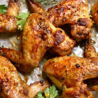Summary: Cajun-style Chicken wings are easy to prepare and loaded with delicious flavors. Pair it with a creamy ranch ding sauce and it'll be a big hit at any parties!