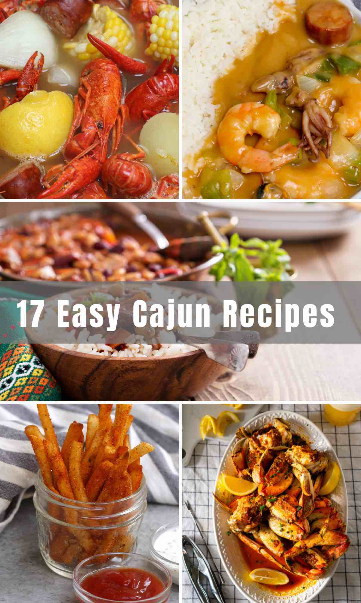 When you're craving something bold, hearty, and full of flavor, you can't go wrong with these Easy Cajun Recipes. Developed in Louisiana, Cajun food is an exciting mix of West African, French, and Spanish cooking.
