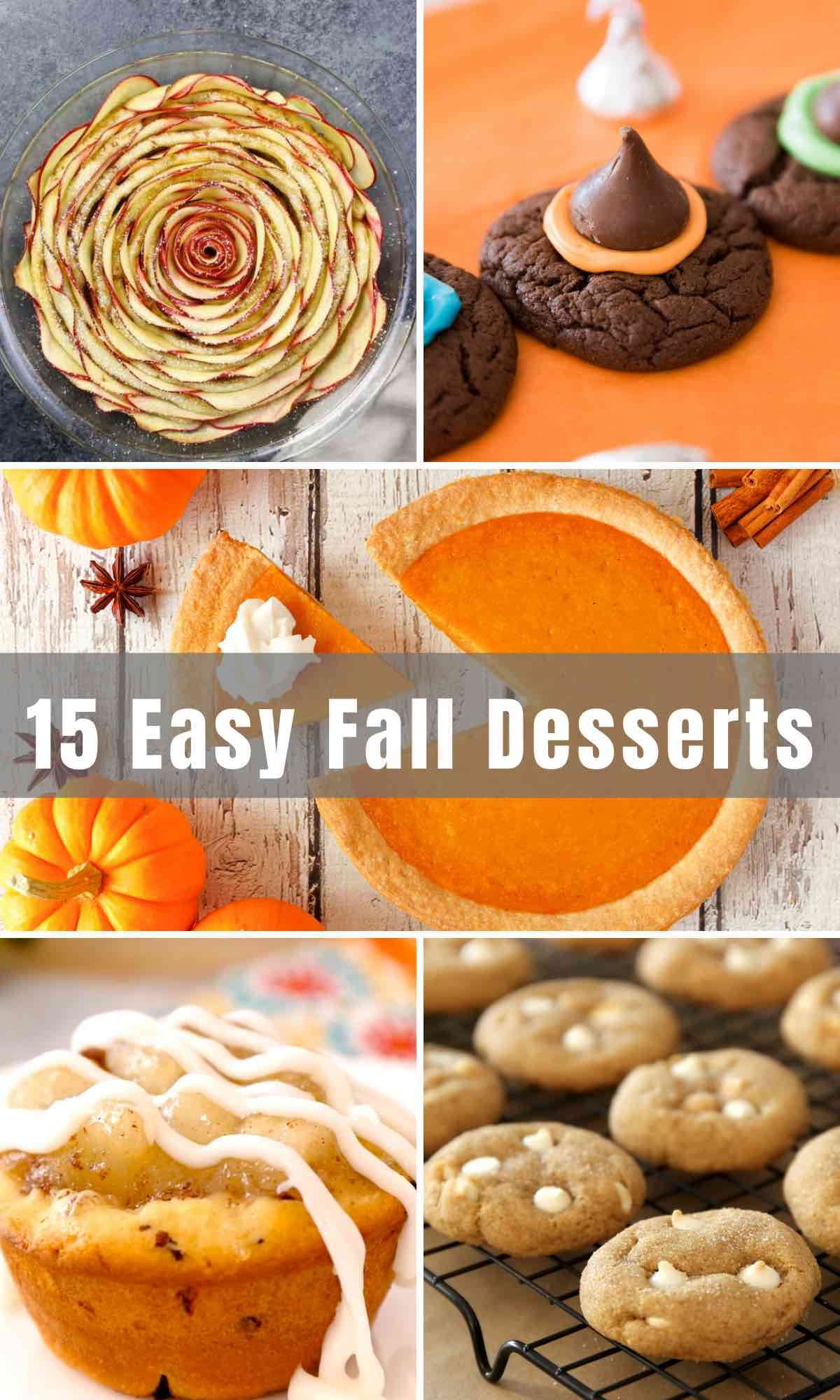 Desserts are the perfect after-dinner treats that hit the spot once the weather starts getting colder and the leaves start falling. We'll take you through 15 of the Best Fall Dessert Recipes.From pumpkin pie to cinnamon roll tart, to Thanksgiving trifles and apple tacos, get baking and enjoy these cozy autumn desserts!