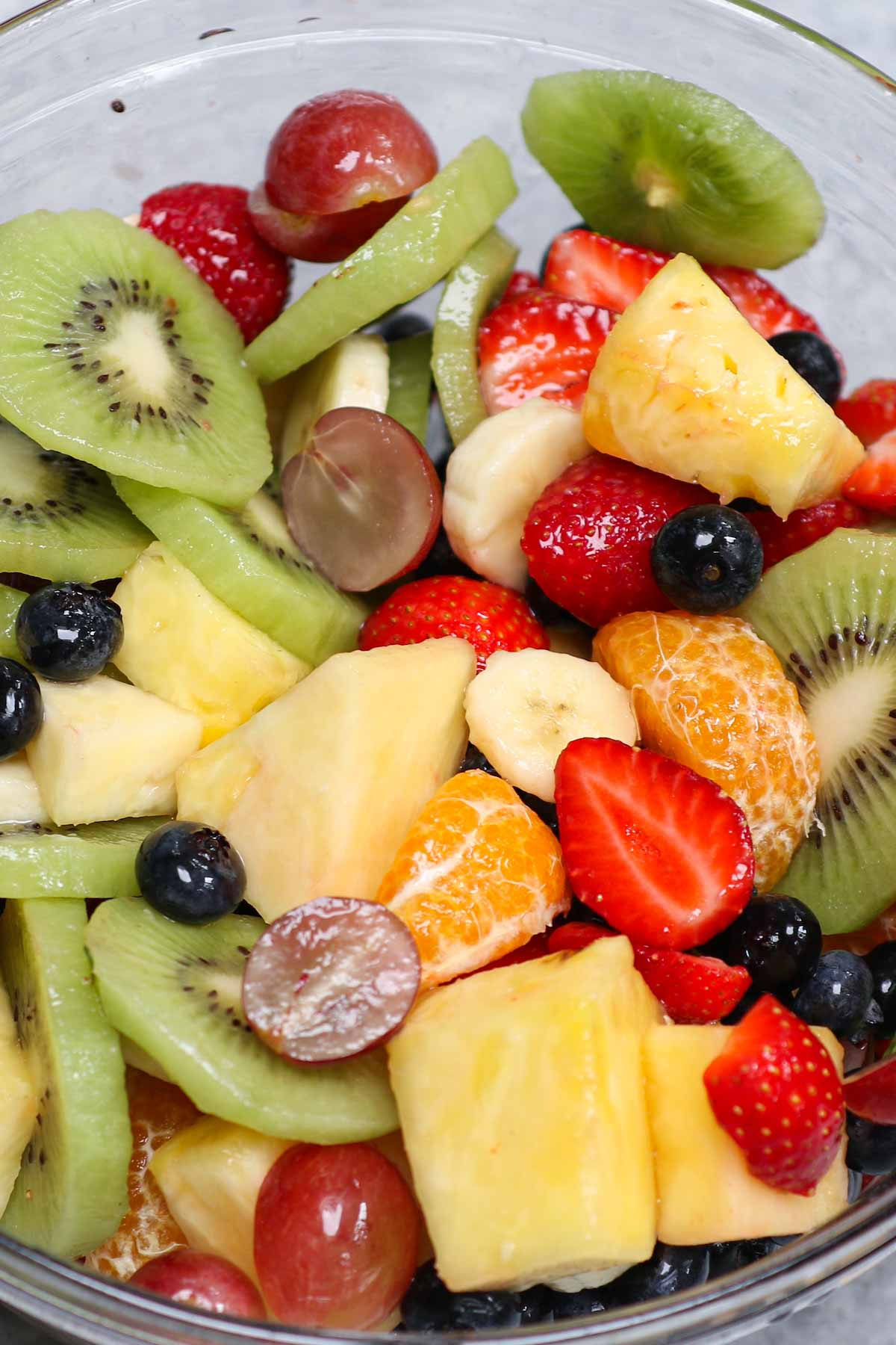 For a fruity and refreshing snack, dessert or appetizer, Fruit Cocktail is always a crowd favorite! What could be better than a variety of fresh, juicy fruits on a hot summer's day? If you aren't a fan of canned fruit cocktail salad, you're sure to enjoy this easy, homemade version using seasonal fruit and berries.