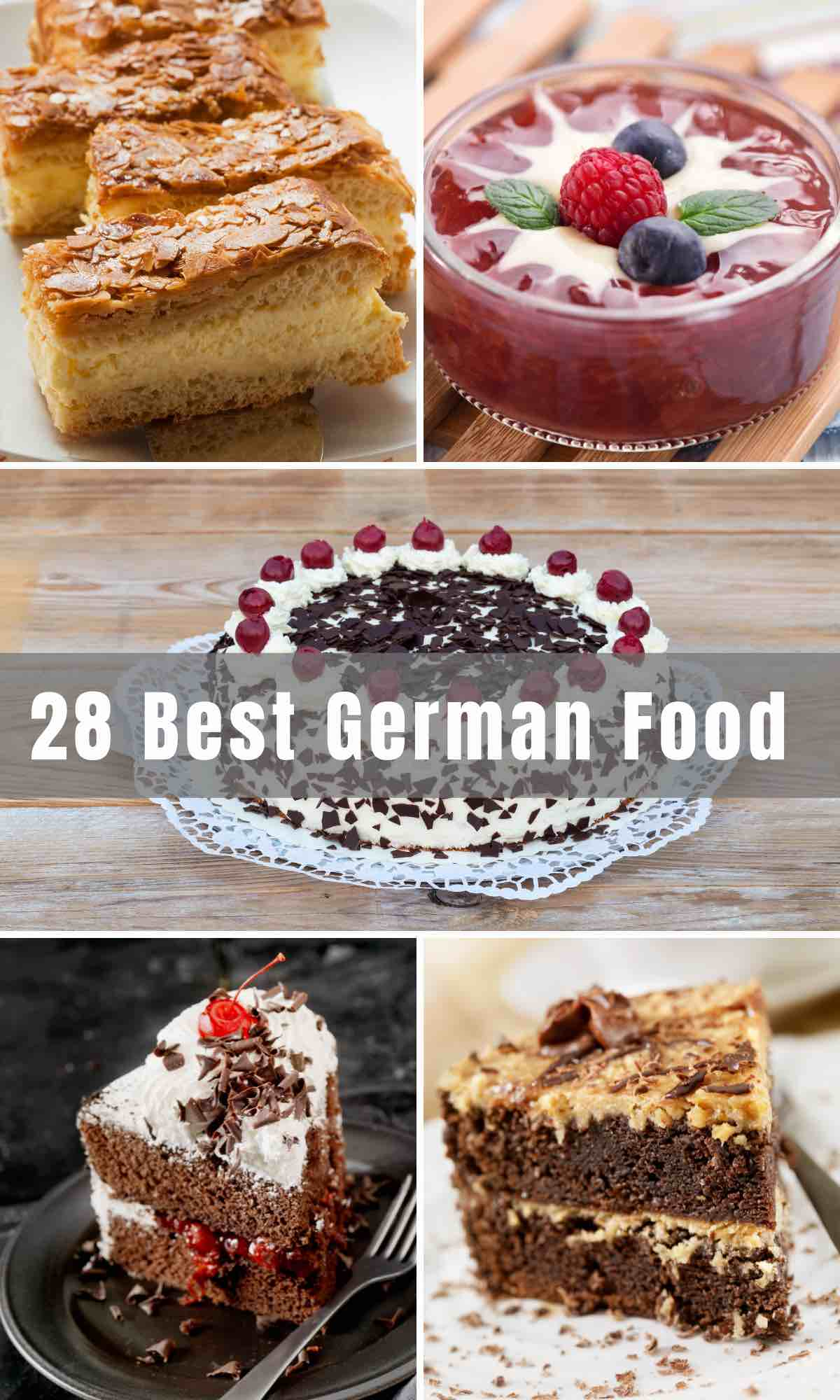 German Food is famously wholesome, hearty, and filling - the ultimate comfort food! There are so many delicious dishes in German cuisine besides sauerkraut. We've rounded up 28 of the best German recipes, and now you can enjoy them at home any time of the year.