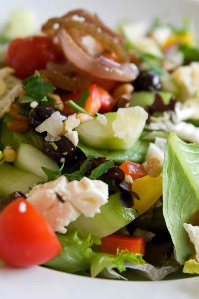 Keto Mediterranean Salad