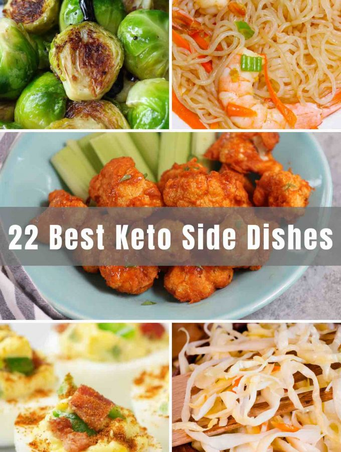 Are you contemplating the keto diet? Think it's impossible to do or to enjoy? Well, think again! We've got 22 of the Best Keto Side Dishes to get you started! You won't have to give up comfort, flavor, or your love for food with any of these keto-friendly recipes!