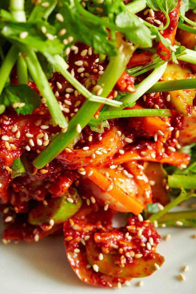 Korean Coleslaw