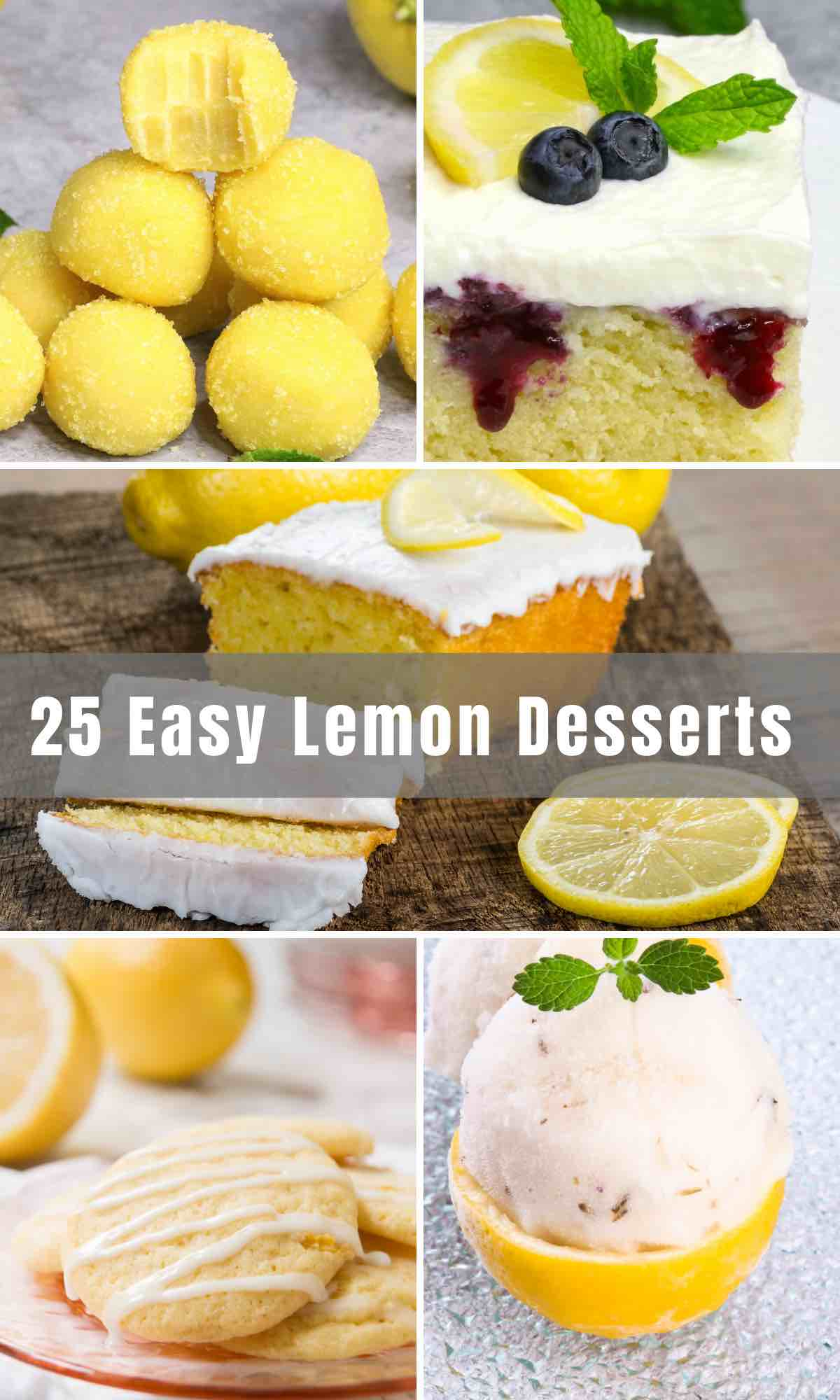 When life gives you lemons, make dessert! From pies to cookies to cakes, lemon-based treats are beloved for their tangy, citrusy, and sweet taste. If you have this fruit on hand, try out some Easy Lemon Desserts Recipes!