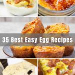 Eggs are one of the most versatile foods. You can cook them up for breakfast, lunch, or dinner. Or, if you're egg-cited about eggs, keep going and make a delectable dessert too! We've collected 35 of the Best and Easiest Egg Recipes - from egg salad to deviled eggs to egg drop soup, you'll find something for everyone!