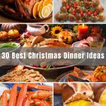 It's that time of year, and Christmas is right around the corner. We have rounded up 30 of the Best Christmas Dinner Ideas for a perfect feast. From prime rib roast to roasted turkey to Christmas side dishes and desserts, you've got a menu your family will love!