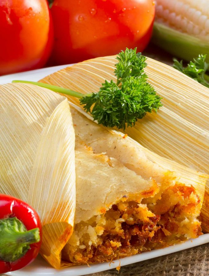 Tamales are a traditional dish in several Central and South American countries, but Tamales Mexicanos (Mexican tamales) is perhaps the most famous version.